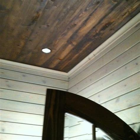 13 Best Wood Beam Ceilings Images On Pinterest Faux Wood Wood Planks On Ceiling