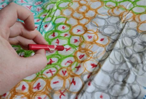 how to remove crayon from upholstery do it yourself home textiles with fabric crayons aunt