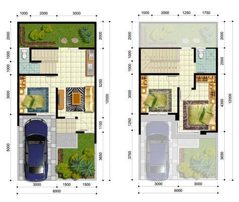denah rumah sederhana type 100 contoh rumah minimalis