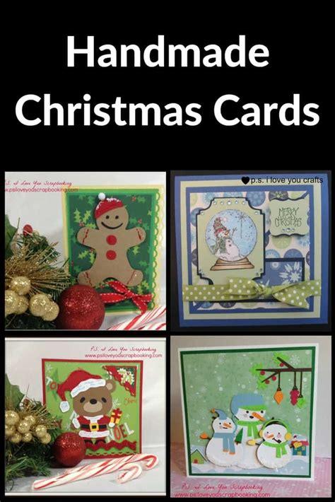 Handmade I You Cards - handmade cards p s i you crafts