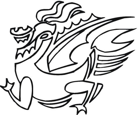 abstract dragon coloring pages abstract dragon coloring page color book