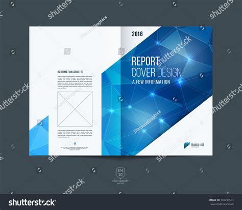cover layout image brochure template layout cover design annual stock vector