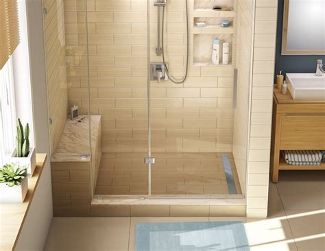 ideas for make a cedar shower bench the wooden houses