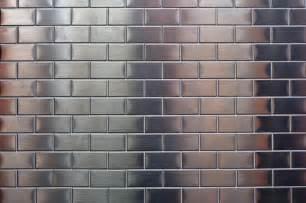 Metal Wall Tiles Kitchen Backsplash shiny metallic small silver metal tile background free