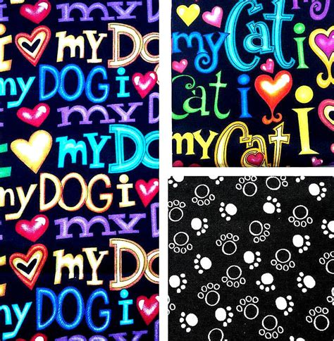 fabric crafts for dogs timeless treasures craft cotton fabric i my
