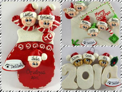 ornaments with love personalized christmas ornaments