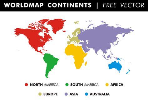 vector worldmap worldmap continents free vector free vector