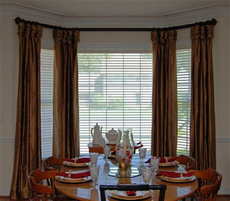 dining room bay window treatments dandelion s blog another design option for a bay window