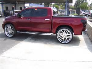 Toyota Tundra On 28 Inch Rims The Flyest Meanest Most Delicious Toyota Tundra On