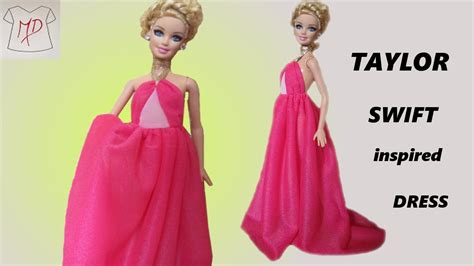 taylor swift dress youtube barbie doll how to make taylor swift dress youtube