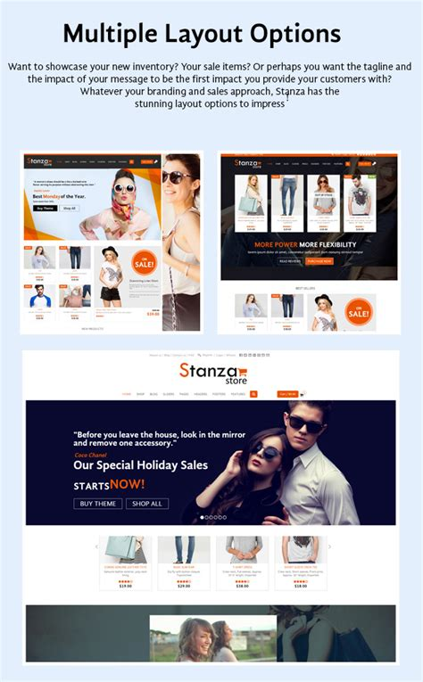 jekyll multiple layout stanza store responsive ecommerce html 5 template by