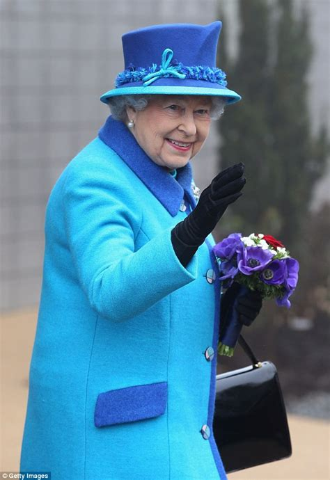 Kaos Trust In Duke Blue the of colour blocking royal wears bold blue as she