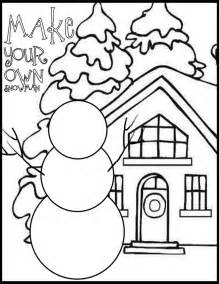 free winter coloring pages for kindergarten free coloring sheets