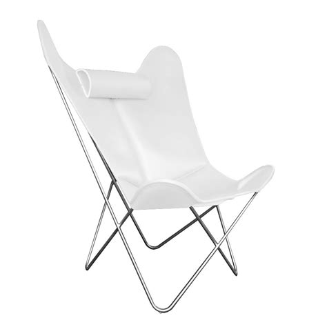 butterfly chair with ottoman hardoy butterfly chair grand comfort leather white with