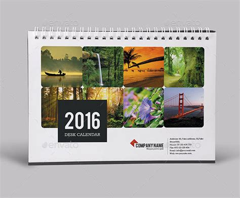 design table calendar 2016 20 best calendar template designs 2016 print idesignow