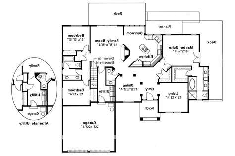 Somerset Floor Plan by Traditional House Plans Somerset 10 057 Associated Designs