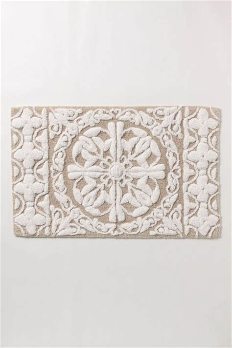 Anthropologie Bath Mat by Isola Bathmat Traditional Bath Mats Other