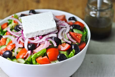 greek salads easy greek salad