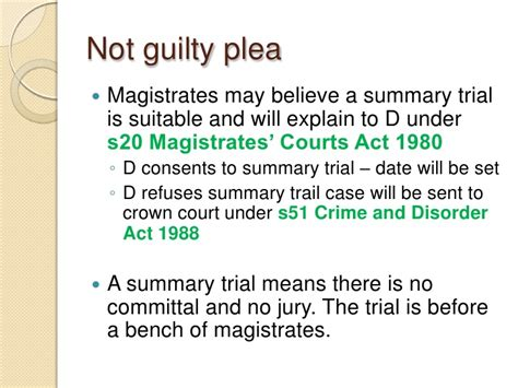 bench trial in a sentence law exchange co uk powerpoint