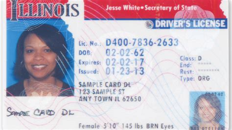 drive id card template illinois driver s licenses and id cards might not be