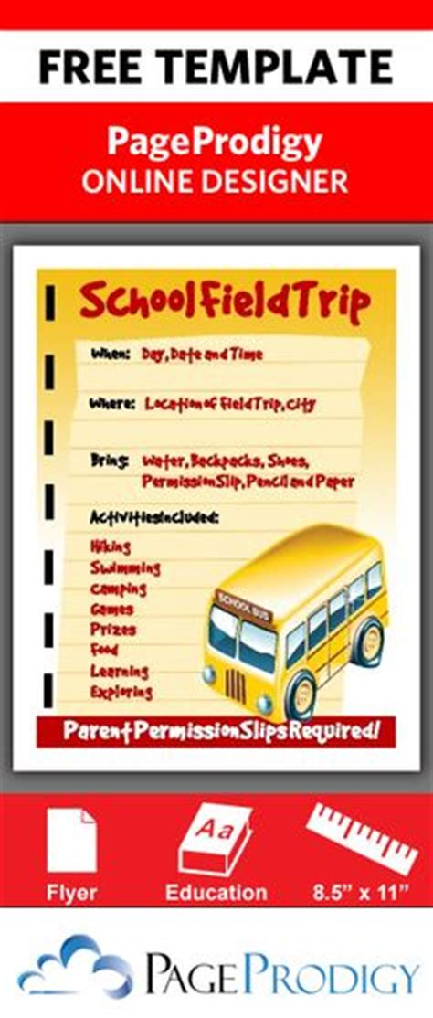 Field Trip Flyer Template Yourweek E6fe15eca25e School Field Trip Flyer Template