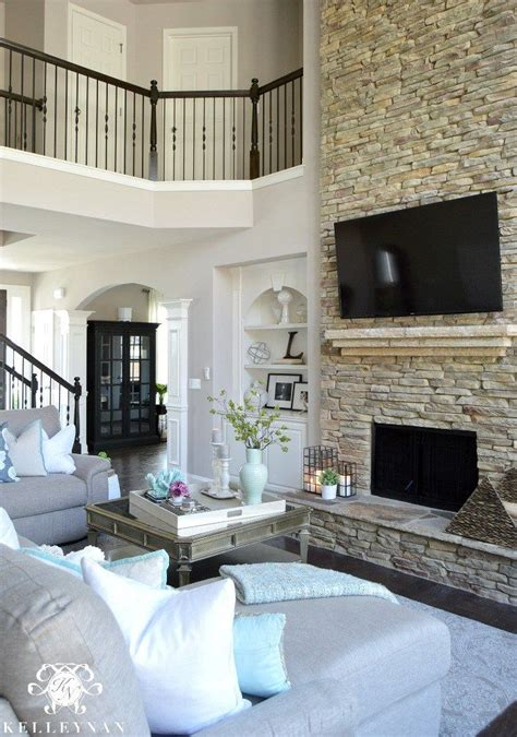 two story fireplace 1000 ideas about stacked stone fireplaces on pinterest