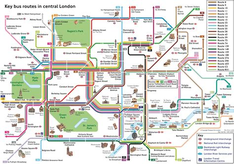 Waterloo Floor Plan londres plans et cartes de bus