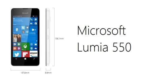 Microsoft Lumia Wp 10 Microsoft Lumia 550 Alles Was Ihr Wissen M 252 Sst