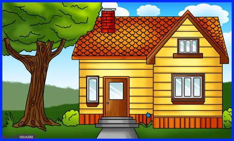 house drawing simple house drawing drawing art gallery