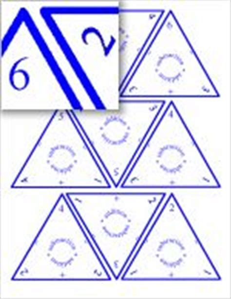 printable triangle flash cards addition subtraction fact families math and children on pinterest