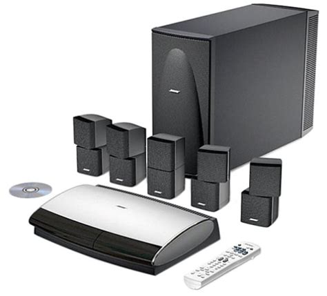 bose lifestyle 28 home entertainment system black