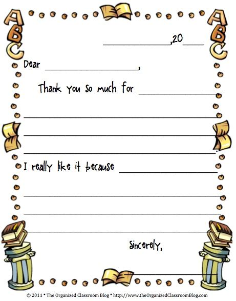 student thank you card template 38 best thank you notes images on school