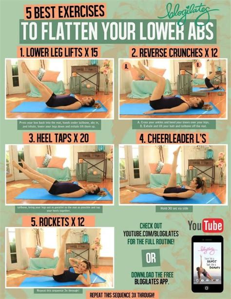 5 best exercises to flatten your lower abs abs diy exercise diy exercise ab exercises loss