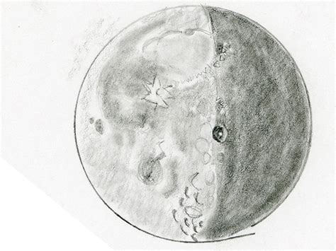Sketches Moon by Chasing Galileo 21 Day Moon Comparison 171
