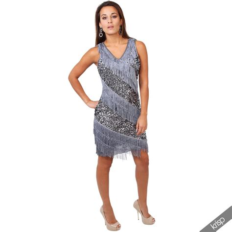 party outfits for women in their 20s womens 20s flapper tassel gatsby partywear sequin deco