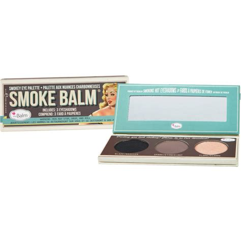 Thebalm Smoke Balm 1 thebalm smoke balm volume paleta farduri de ochi aoro ro