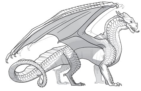 free coloring pages of sand wing dragon