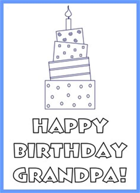 Printable Happy Birthday Cards For Grandpa | 5 best images of happy birthday grandpa printable happy