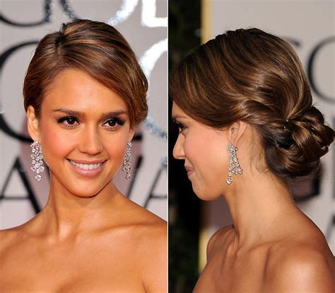 pictures jessica alba red carpet hairstyles through the jessica alba 35 a 241 os en 35 beauty looks foto 1