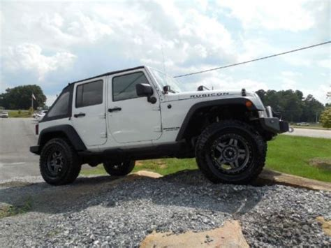 2008 Jeep Wrangler Unlimited Lift Kit Find Used 2008 Jeep Wrangler Rubicon Unlimited Lift Kit