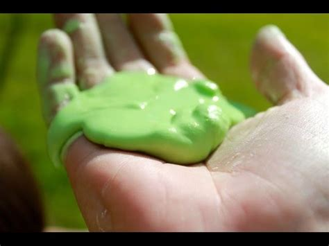 tutorial slime with borax basic slime tutorial no borax laundry starch or glue