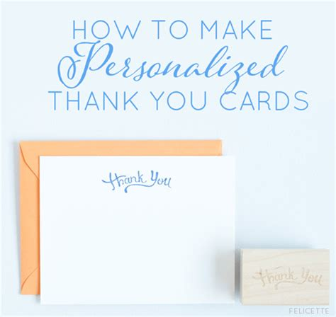 how to make a thank you card how to make thank you cards for weddings