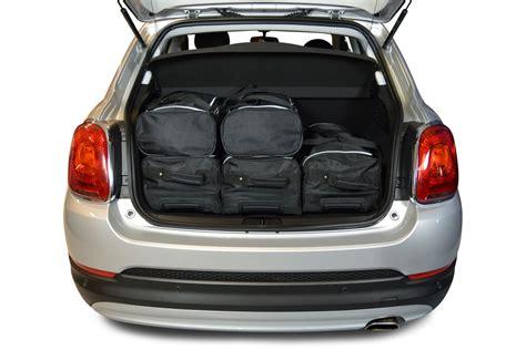 fiat 500 luggage 500x fiat 500x 2015 present 5d car bags travel bags