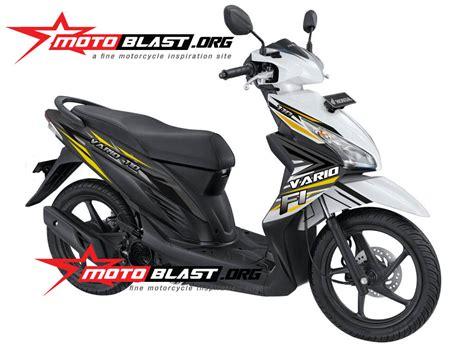Sticker Striping Motor Stiker Honda Vario Fi Ducati Stoner Spec A modif striping decal design honda vario 110 fi motoblast