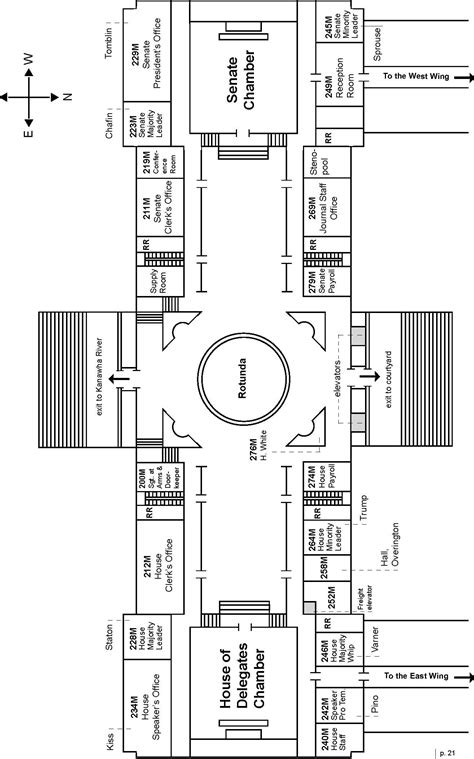 layout of rayburn house office building delegate evan