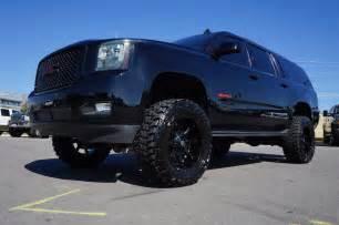 Gmc Suv Tires Gmc Suv Yukon Xl Denali Awd 4x4 Custom Lift Paint Wheels