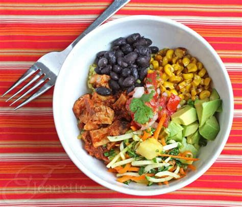 bowl dish recipes cha cha bowl recipe for mexican chicken and black bean