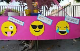 Emoji birthday party ideas diy inspired