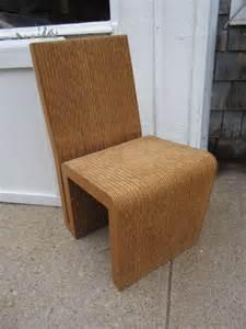 frank gehry cardboard chair frank gehry cardboard easy edges chair at 1stdibs