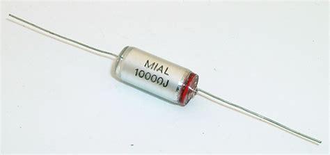 capacitor polystyrene capacitors